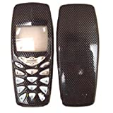 Cell Phone Hard Plastic Faceplate Fits Nokia 3520 3560 3590 3595 Carbon Fiber (Color: Carbon Fiber)