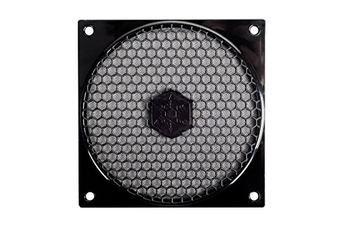 SilverStone 120mm Fan Filter with Grill FF121 (Black) (Fan For Grill compare prices)