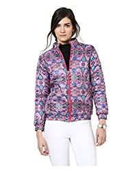Yepme Amyra Full Sleeves Jacket - Fuchsia -- YPMJACKT5168_S