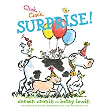 Click, Clack, Surprise! Audiobook by Doreen Cronin, Betsy Lewin Narrated by Maurice England