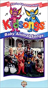 Amazon.com: Kidsongs: Baby Animal Songs [VHS]: Marilyn Rising, Frat