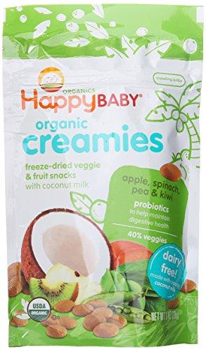 Happy Baby Organic Creamies Freeze Dried Veggie Amp Fruit