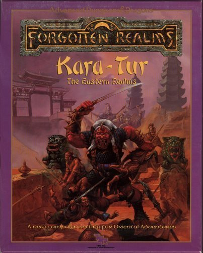 Kara-Tur: The Eastern Realms (AD&D Forgotten Realms Oriental Adventures)  BOX SET