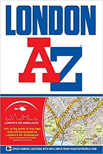 London Street Atlas (A-Z Street Atlas) 2014
