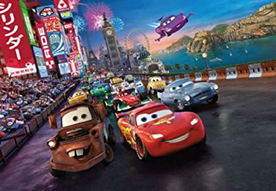 Disney Cars Photo Wallpaper Wall Mural from WallStickerWarehouse