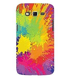 MODERN ART SPASHED PAINTS PATTERN 3D Hard Polycarbonate Designer Back Case Cover for Samsung Galaxy Grand 2 G7102 :: Samsung Galaxy Grand 2 G7106