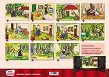 Image de Kamishibai Bildkartenset Der Wolf und die 7 Geißlein - Bildkarten für unser Erzähltheat