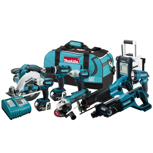 Makita LXT902 18-Volt LXT Lithium-Ion Cordless 9-Piece Combo Kit