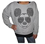 Disney Mickey Mouse Womens Pullover Light Sweater