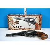 22cm Navy Antik Metal 8 Shot Cap Gun by Edison Giocattoli - Role Play (BT42)