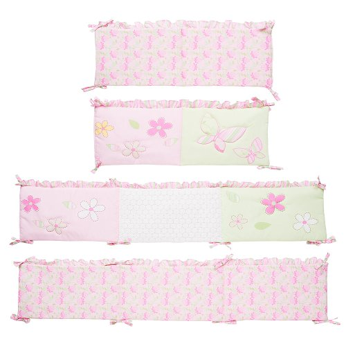 At First Flutter Crib Bumper - 1