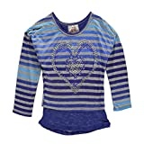 "Beautees Little Girls' ""Stud Heart"" Top"