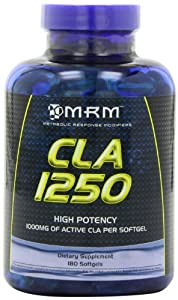 MRM CLA 1250  High Potency,180 Softgels