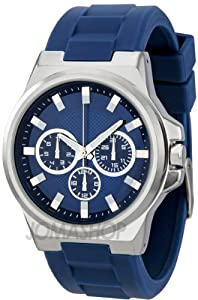 FMD Blue Dial Navy Rubber Strap Mens Watch ZRT15552S11
