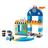 Winfun Police Station Set, Multi Color (39 Pieces)