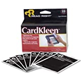 Advantus Read Right CardKleen Magnetic Head Cleaning Cards, 25 Count (REARR1222)