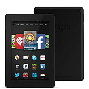 "Fire HD 7, 7"" HD Display, Wi-Fi, 16 GB, Black from Amazon"