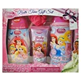 Disney Princesses Bath Time Gift Set Body Lotion 7 Oz,body Wash 16 Oz,3-in-1 Body Wash 16 Oz