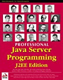 img - for Professional Java Server Programming J2EE Edition book / textbook / text book