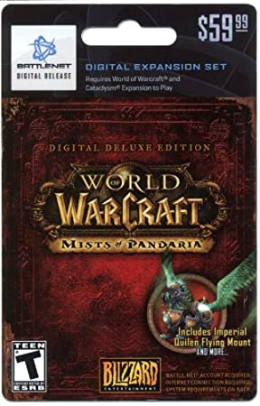 World of Warcraft Mists of Pandaria Digial Expansion Set