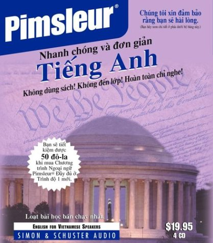 English for Vietnamese, Q&S: Learn to Speak and Understand English for Vietnamese with Pimsleur Language Programs (Quick & Simple) (Vietnamese Edition)