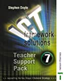 ICT Framework Solutions: Teacher Support Pack Year 7 (0748790853) by Doyle, Stephen