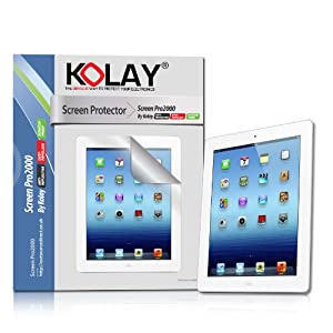 Kolay 6 Pack iPad 3 Screen Protector for New Apple iPad Tablet 3rd Generation 2012