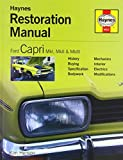 img - for Ford Capri MkI, MkII & MkIII (Haynes Manuals) by Kim Henson (2004-12-12) book / textbook / text book