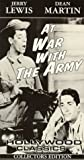 echange, troc At War With the Army [VHS] [Import USA]