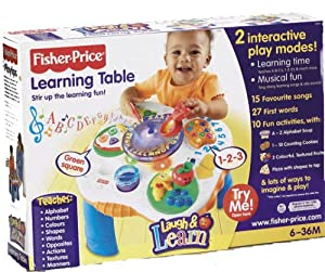 Fisher Price Laugh & Learn around the town learning table ...