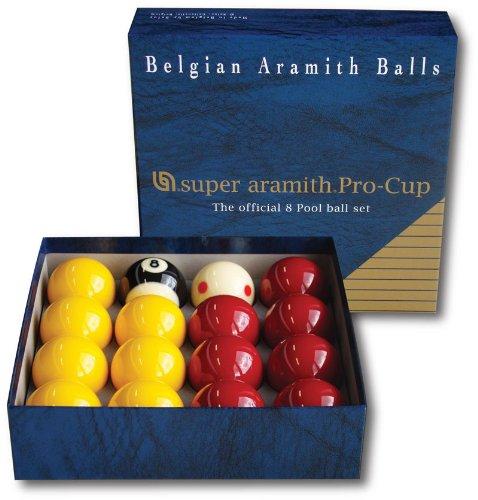 Aramith Pro-Cup hochwertige Pool-Billardkugeln, 8 Stück, 5cm jetzt kaufen