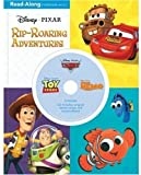 3-in-1 Read-Along Storybook and CD: DisneyPixar Rip-Roaring Adventures