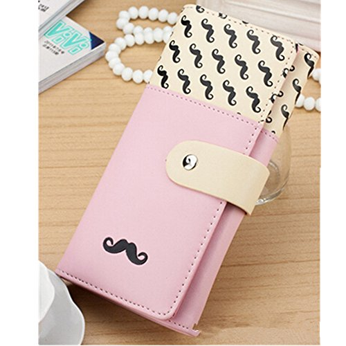 Best Price EVTECH(TM) Beard Button Series Multifunctional Coin Purse Wrist Bag Handbag Envelope Wall...