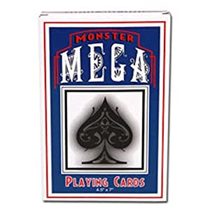 Jumbo Oversize Playing Cards 4.5