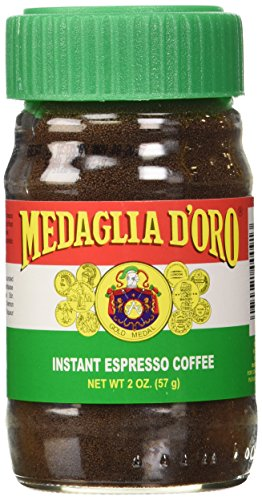 Medaglia D'Oro Instant Espresso Coffee, 2-Ounce Jars (Pack of 6) (Coffee Powder Instant compare prices)