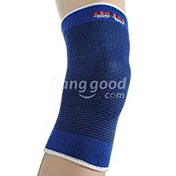 Pink Lizard Sports Outdoor Elastic Knee Support Kneecap Safety Supply 1 Pair Blue