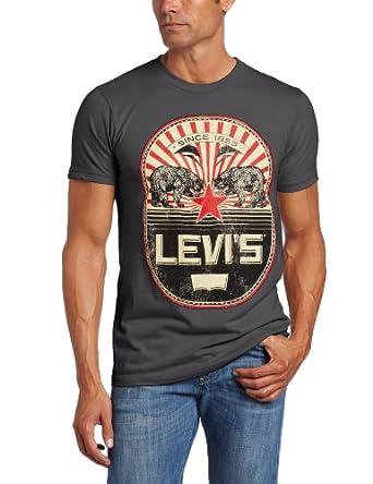 Levi's 男士 California Star短袖T恤 19.99美元