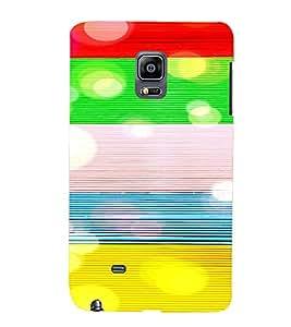 PrintVisa Modern Art Pattern 3D Hard Polycarbonate Designer Back Case Cover for Samsung Galaxy Note Edge