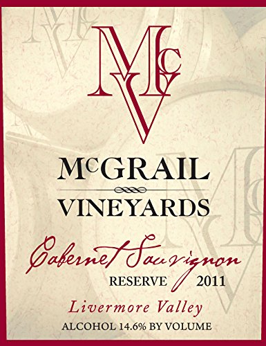 2011 Mcgrail Vineyards Cabernet Sauvignon Reserve