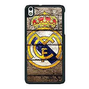 Jugaaduu Real Madrid Back Cover Case For HTC Desire 816