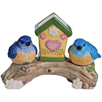 Bluebirds Salt & Pepper Shaker Toothpick Set