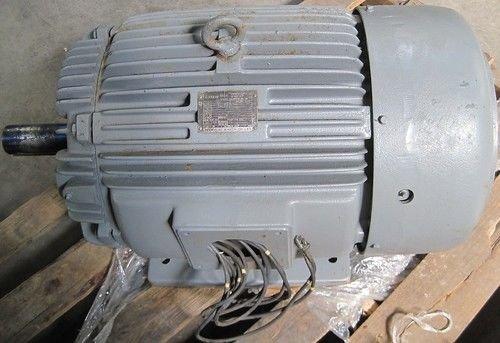 Teco Max-E1 50Hp Severe Duty 3-Phase Induction 575Vac Motor 3770Rpm