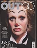 Out Magazine December 2012/January 2013 (Jane Lynch- The 100 Most Compelling People of the Year)