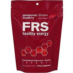 FRS Healthy Energy Chews, Pomegranate Blueberry, 5.27 Ounces Bag