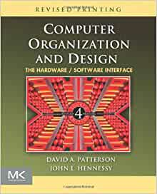 PATTERSON COMPUTER AND ORGANIZATION DESIGN