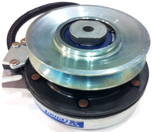 Electric Pto Blade Clutch Replaces Warner 5219-64, 521964 - Free Bearing Upgrade & Machined Pulley