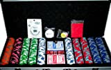 500pc 14g Premium Nexgen Style Poker Chip Set w/ FREE Accessories