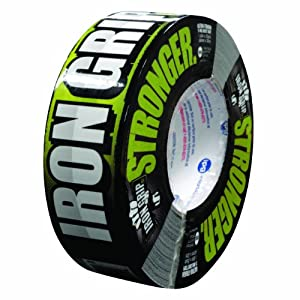 Intertape Polymer Group IG235 Iron Grip Duct Tape, 1.88 in x 35 yds, Black