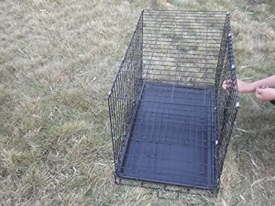 "36"" Pet Wire Cage with ABS Pan"