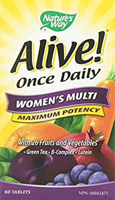 Nature's Way Alive Womens Once Daily 60 Count